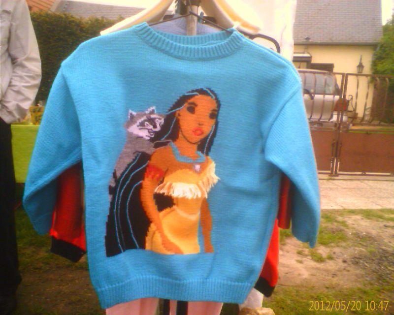 Pull machine Pocahontas