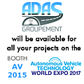 Meet us at the autonomous vehicle technology world expo!