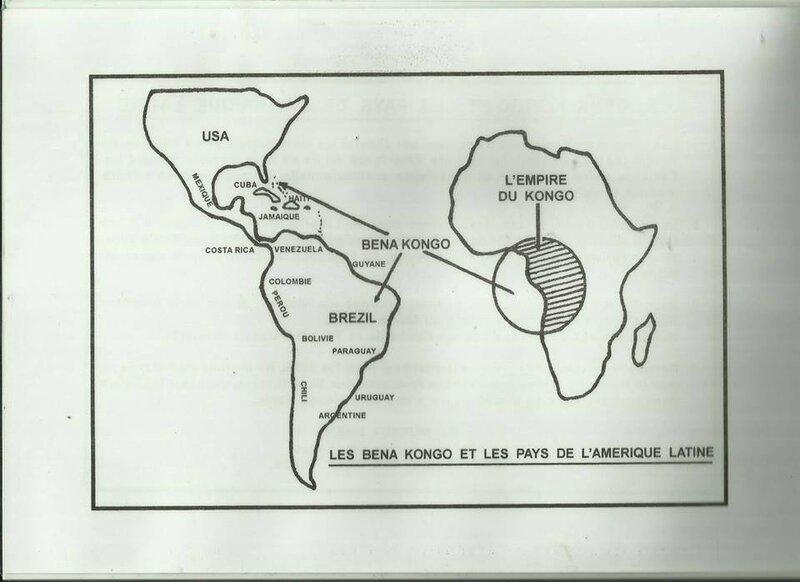 LES BENA KONGO ET LES PAYS D'AMERIQUE LATINE a