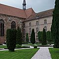 Les jardins de l'abbaye d'autrey.