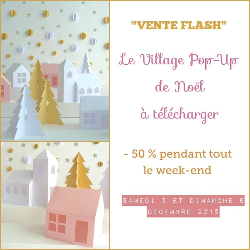 vente flash village de noel