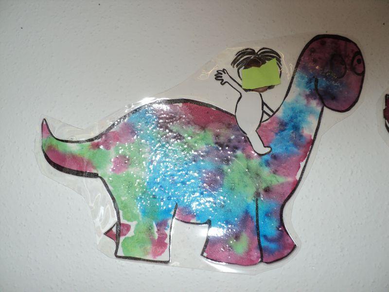 Man ges de couleur la classe des petits for Decoration porte arts visuels