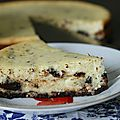 Sernik stracciatella* Stracciatella Cheesecake*