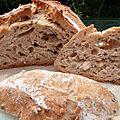 Le pain artisanal en 5 minutes par jour....