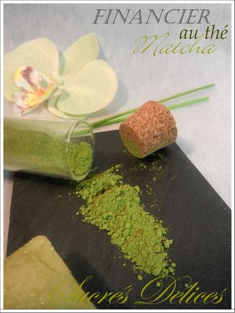 financier matcha 7bis