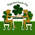 Happy saint patrick's day !