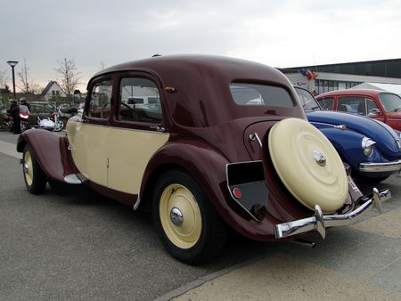 CITROEN Traction 11 Legere 1950 Bourse Echanges Autos Motos de Chatenois 2010 2