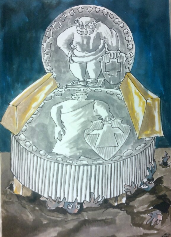 Chaise du Franc fort
