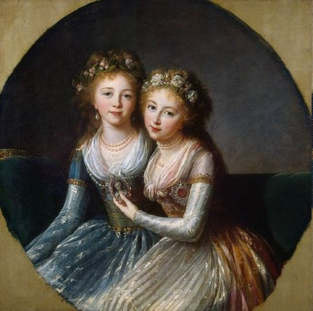 Vigee_Le_Brun_Elisabeth-Louise-ZZZ-Portrait_of_Emperor_Pavel_Is_Daughters