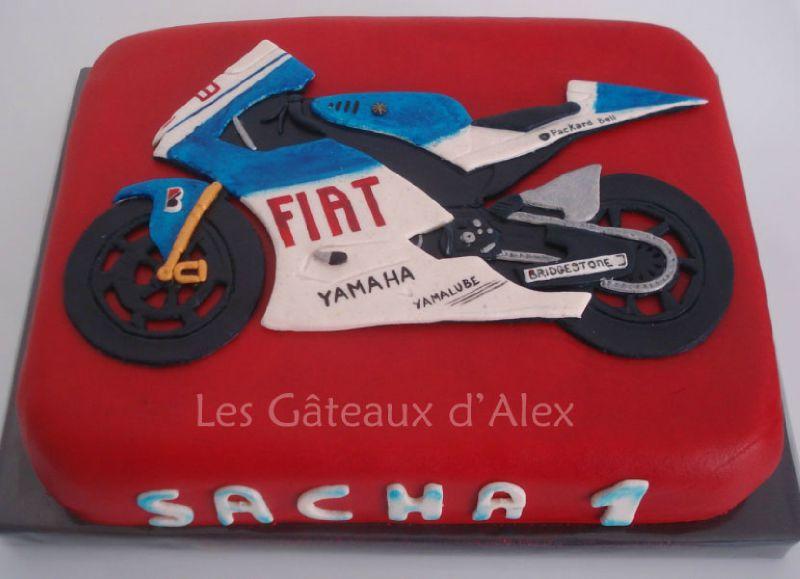 Très Gâteau Moto - Photo de 4. Le coin des adultes - Les Gateaux d'Alex RO78