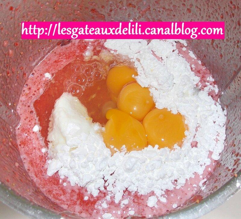 2014 05 29 - recette façon fraisier (5)