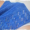 [Yes I shawl] : Lcher de chle bleu !