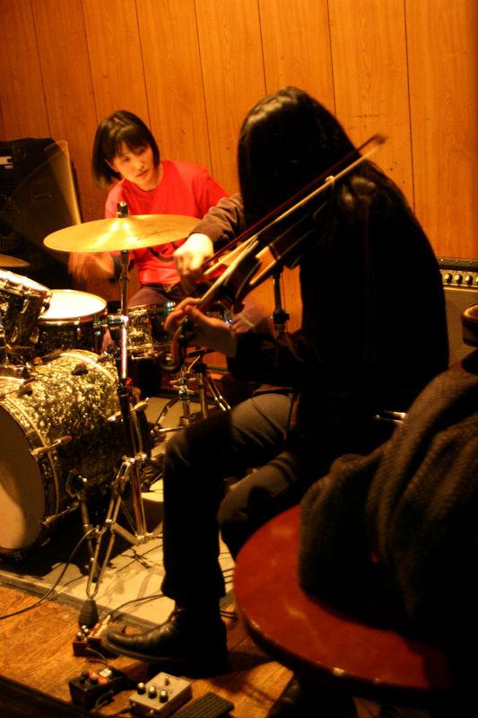rinji fukuoka & aya onishi at UFO club