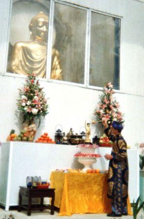 Au temple jour de l'an de l'année du sanglier 18 fév 2007