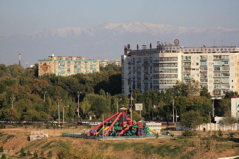 Urbanisme soviétique et montagnes