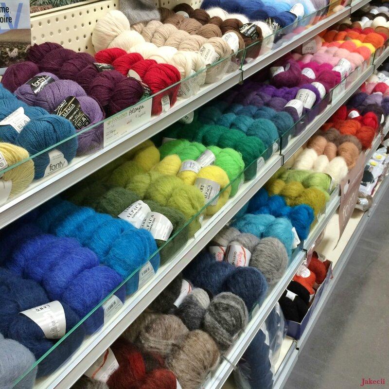 Vente de laines à Rennes - Ecolaines - Tricot 5 - Jakecii