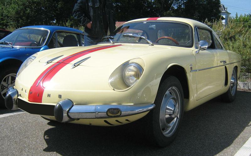 Alpine A108 (rencard haguenau) 01