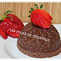 Bavarois chocolat pour diabétiques