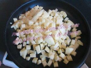 Pommes de terre sauté au mélange Antillais01