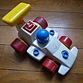 Voiture de course - fisher price