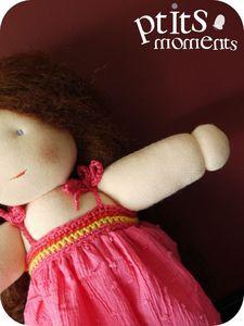 Poupée - Robe crochet #1 - 201107-002