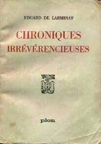 chroniques irreverencieuses