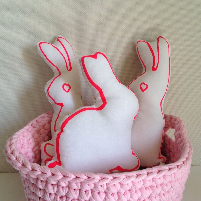 Lapins Made at Les Volets Verts