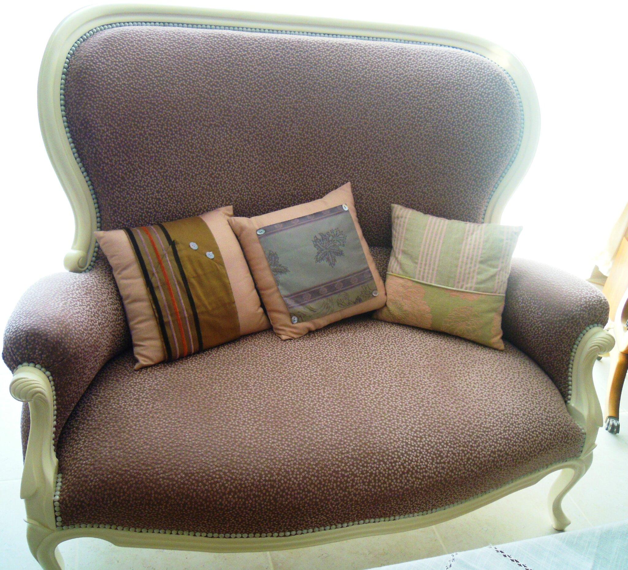 salon louis philippe stephane poissel tapissier d corateur. Black Bedroom Furniture Sets. Home Design Ideas
