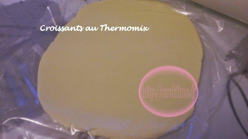 Croissants au Thermomix 1