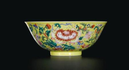 FINE_FAMILLE_ROSE_YELLOW_GROUND__FLORAL__BOWL