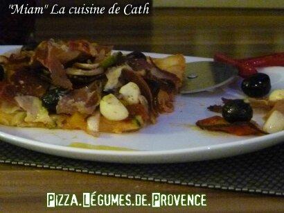 """ღ """" MIAM """" Pizza aux Légumes de Provence"""