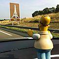 Autoroute A6, direction Paris (77)