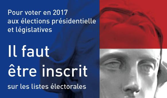 élections présidentielle législatives 2017 liste électorale inscription