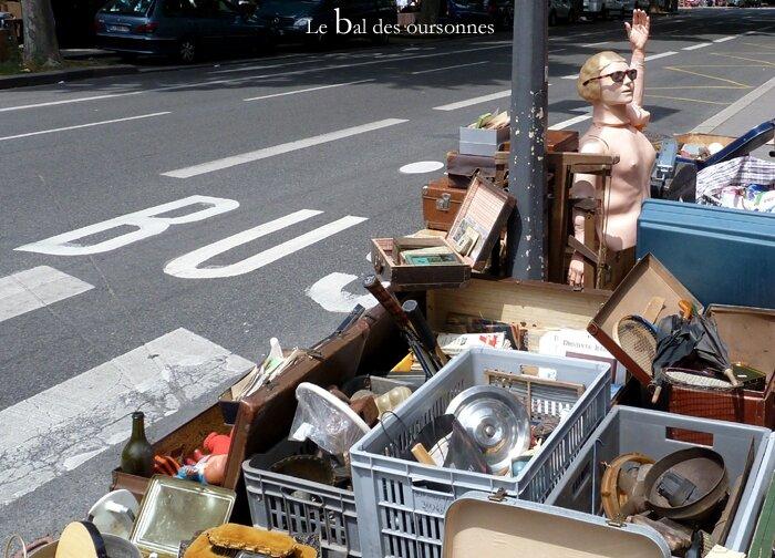 80 Brocante Vide-grenier ville Lyon Plaisir de chiner