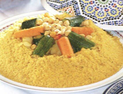 Isra l maroc record le plus grand plat de couscous - Service a the algerien ...
