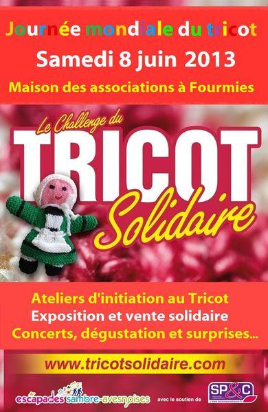 Journée mondiale du Tricot du 8 juin 2013