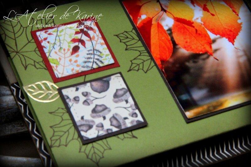 Mini Album Stampin Up Saison Colorées 19