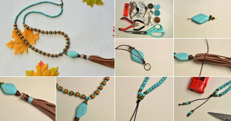 1200-How-to-Make-a-Boho-Style-Tassel-Necklace-with-Turquoise-Beads-and-Wood-Beads
