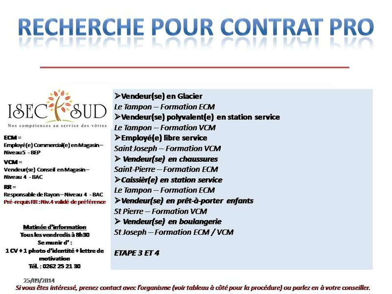 Appel à Profil ISEC 24 09 14
