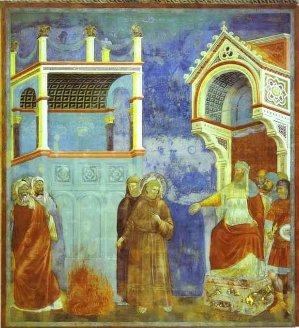 Saint François rencontre le sultan