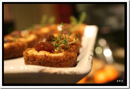 Bouchées soufflées aux foies gras en croûte de spéculoos (2)