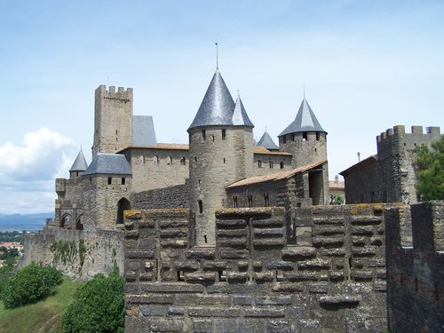 Carcassonne-le Grand châtelet