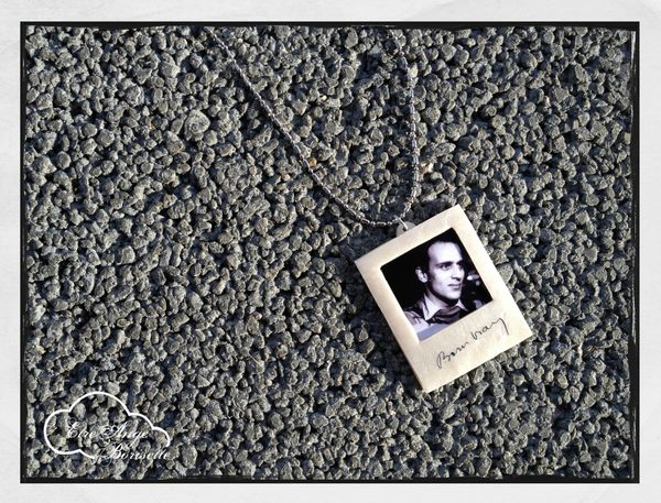 polaroid collier
