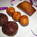 Moelleux au chocolat et aux marrons
