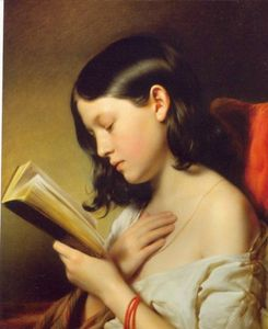 Franz_Eybl_Girl_Reading