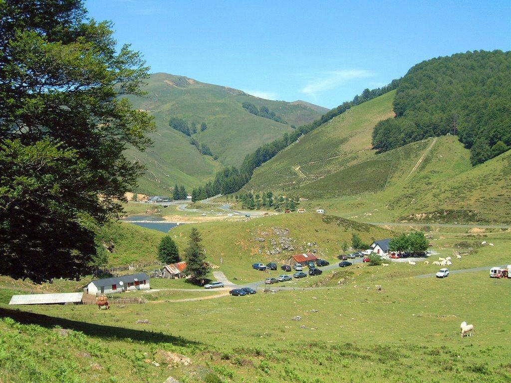 126,2km (bivouac sur aire de camping naturel de Iraty-Cize)