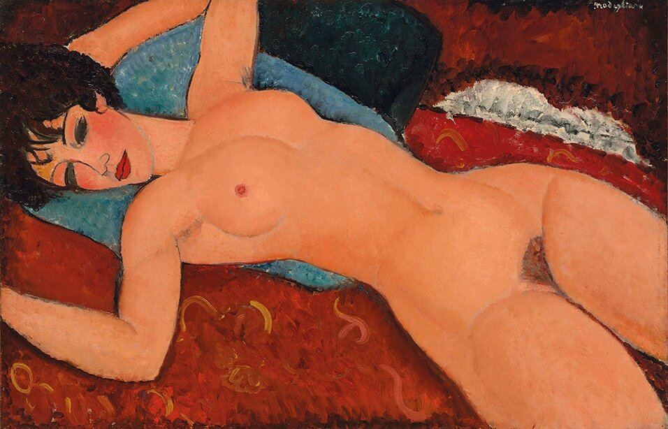 Masterpiece 'Nu couché' by Amedeo Modigliani to lead Christie's November sale week