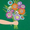 L'amour du fil, flower power (invitations à gagner)
