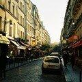 Rue de la Harpe depuis Saint Séverin