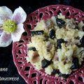 Ecrasée de pomme de terre - anchois - olives
